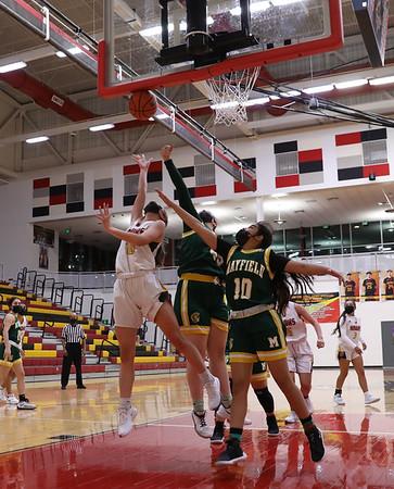 Centennial Girls Basketball 2021 vs Mayfield