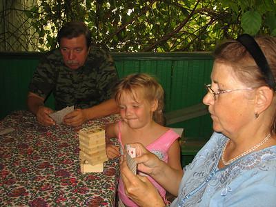 2010-08-09, Oxana's birthday at the dacha