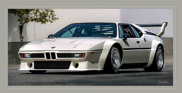 BMW M1 Procar  The world's only new Procar