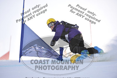 BC High School Provincial Championships - Snowboarding