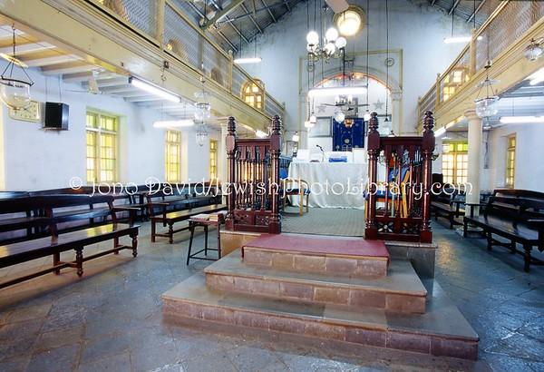 INDIA, Pune (Poona) (Maharashtra). Succath Shelomo (Tabernacle of Solomon) Synagogue, 1921. (2009)