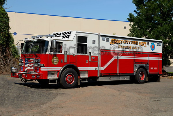 JERSEY CITY NJ FIRE APPARATUS