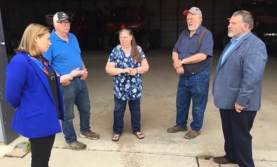 Congresswoman Elissa Slotkin Visits Ingham County Farm