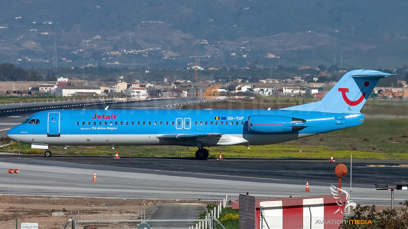 Jetair / Fokker 100 / OO-TUF