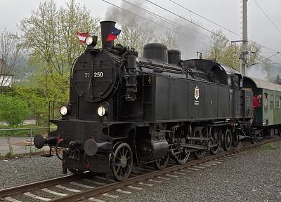 2010-05 Steam Train in Bregenz