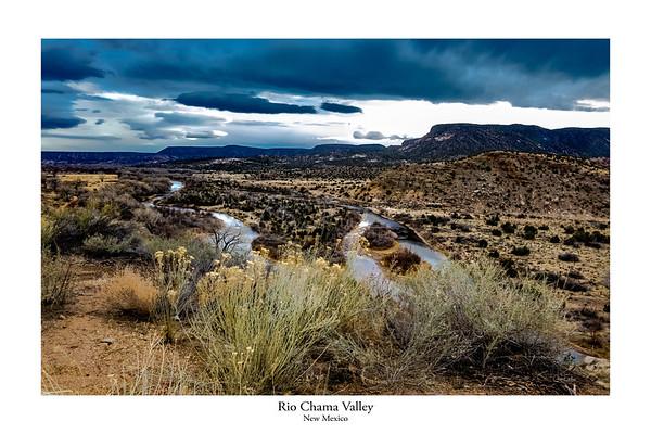 Rio Chama Valley, New Mexico