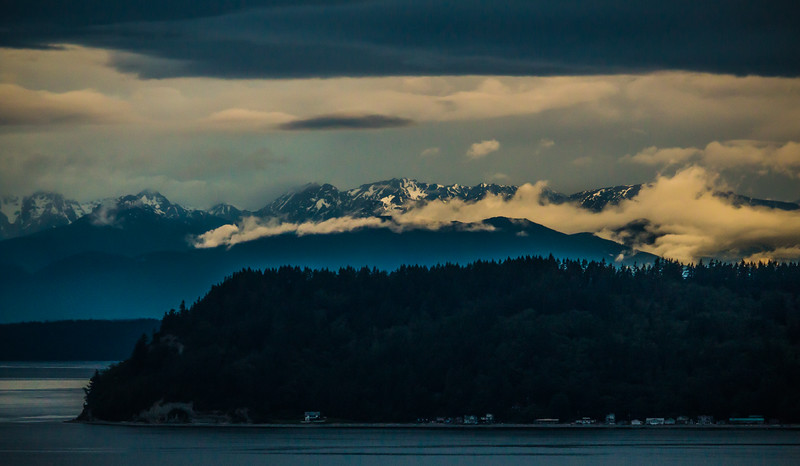 THE OLYMPICS AND WHIDBEY, Mukilteo, Washington