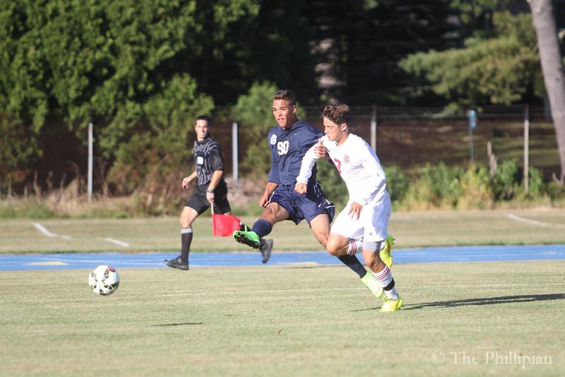 Boys Soccer vs. St. Paul's 9/12/14