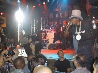 Public Enemy plays at the House of Blues, Sept 1999