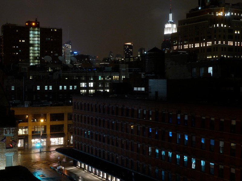 View from my room at The Standard hotel