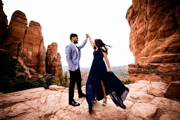 Priyanka & Milov PS - Sedona, AZ
