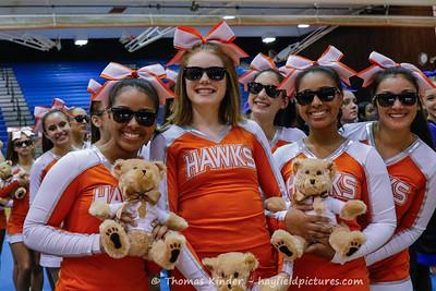 Varsity Cheer at Gunston Finals 10/17/17