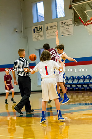Middle School Boys Basketball 2018-19