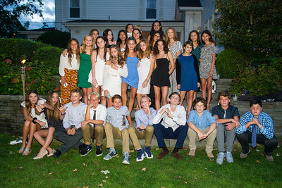 Tahnie's Bat Mitzvah, The Party, September 22, 2018 (photos)