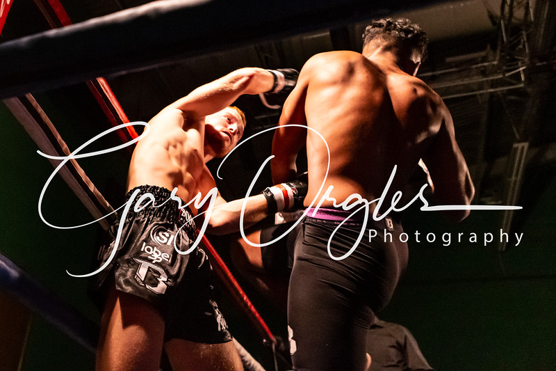 Fight 4.  Kane Birring vs Ben Longstaff