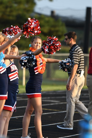 Cheer at Varsity Football vs Crete