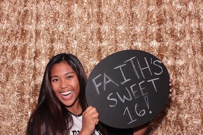 Faith's Sweet 16