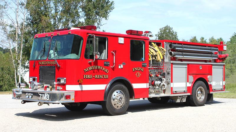 Engine 3.   1997 Spartan / Valley   1500 / 1000