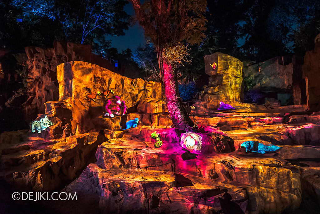 Singapore Zoo Rainforest Lumina - Call of the Wild