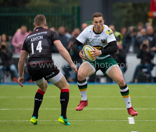 Saracens vs Northampton Saints, Aviva Premiership, Allianz Park, 17 September 2016