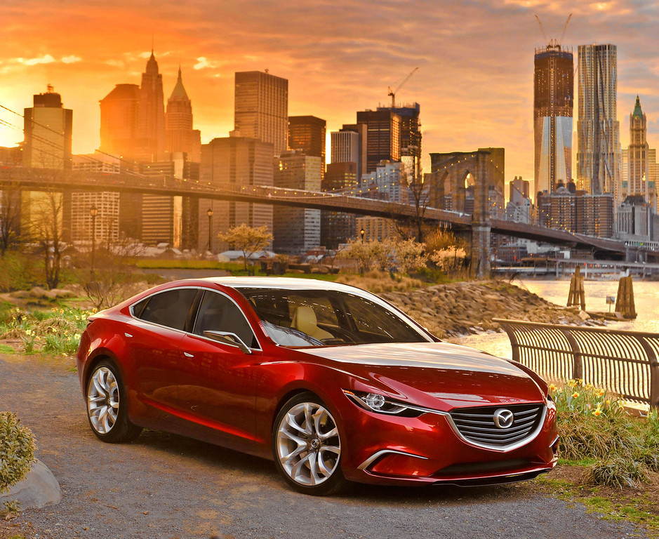 . Mazda Announces All-New 2014 Mazda6 to be Based on TAKERI Concept.  (PRNewsFoto/Mazda North American Operations)