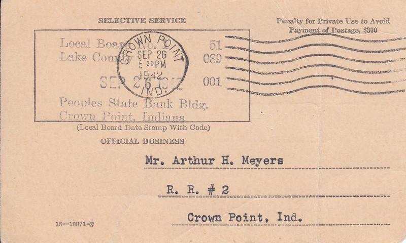 Arthury Meyers - Selective Service card_Sept 26, 1942 (b).jpg