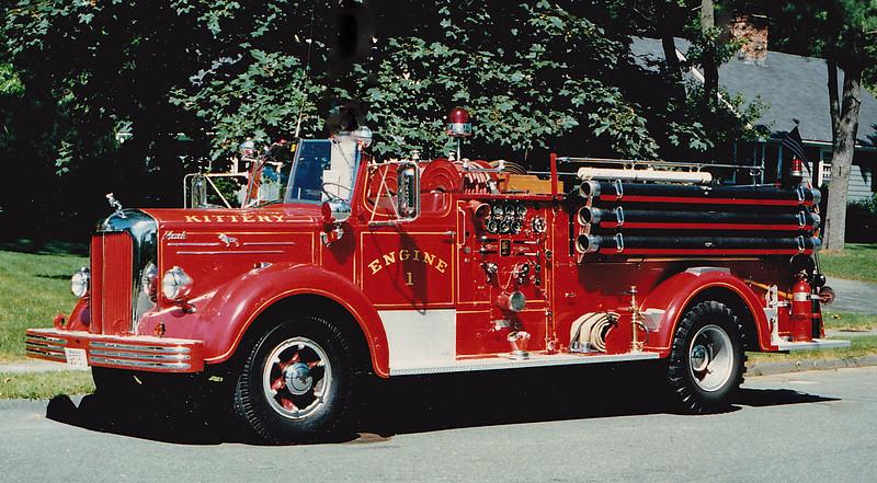 Retired  Engine 1 1953 Mack L
