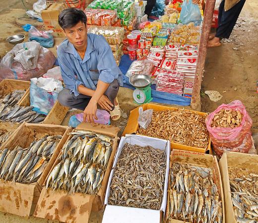 Marché de Cho Pa Co (Xa Linh)