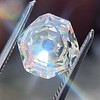 2.12ct Octagonal Flat Cut Diamond, GIA M VS2 10