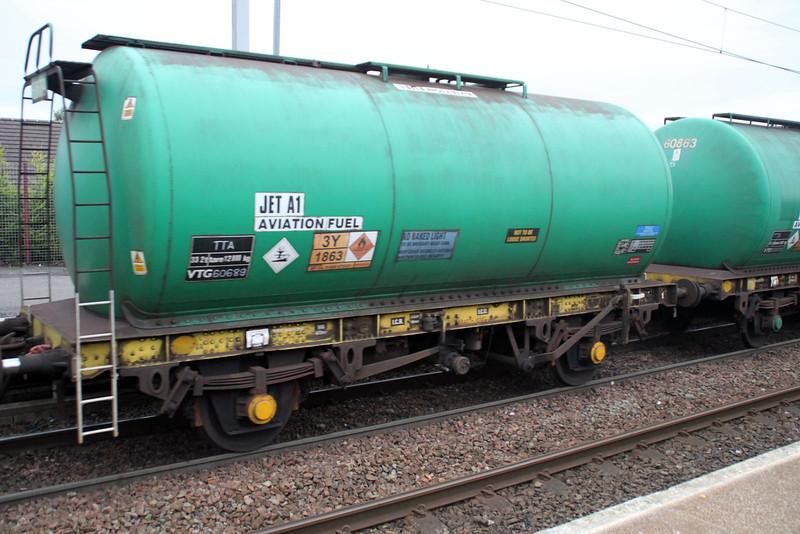 TTA 60689 In 6z47 Prestwick-Grangemouth at Coatbridge Central 02/07/12