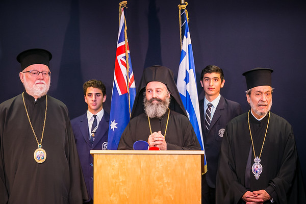 Arrival of His Eminence Archbishop Makarios of Australia.2019