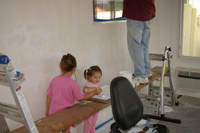 Painting w/ Grandpa