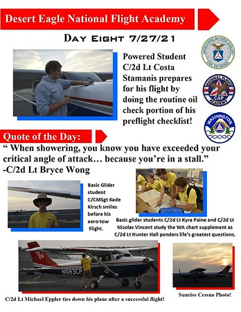 Desert Eagle Flight Academy Day 8