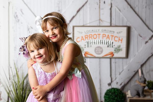 Evelynn & Jolene {Easter Mini} 2021