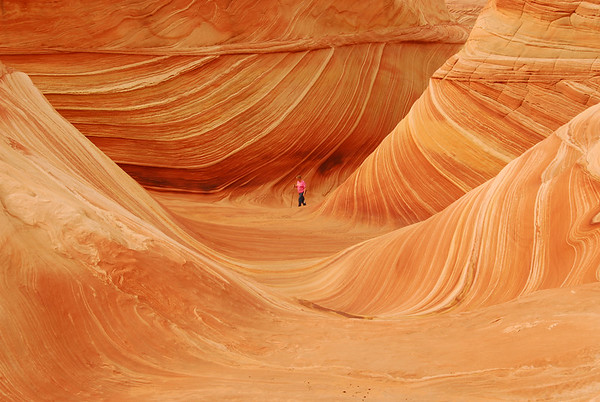Canyon Buttes and the WAVE