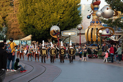 West High Entertainment Unit, Disneyland January 27, 2020