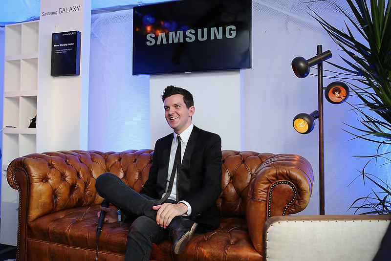 . CHICAGO, IL - AUGUST 02:  Dillon Francis attends the Samsung Galaxy Artist Lounge at Lollapalooza  on August 2, 2013 in Chicago City.  (Photo by Neilson Barnard/Getty Images for Samsung Galaxy)