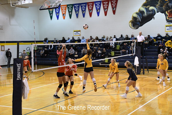 Volleyball Regional vs West Hancock
