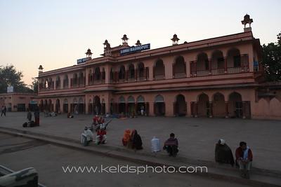 Train Madhopur – ghost town Fatehpur Sikri – Agra