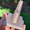 1.05ct Oval Cut Diamond Solitaire, GIA H SI1 25