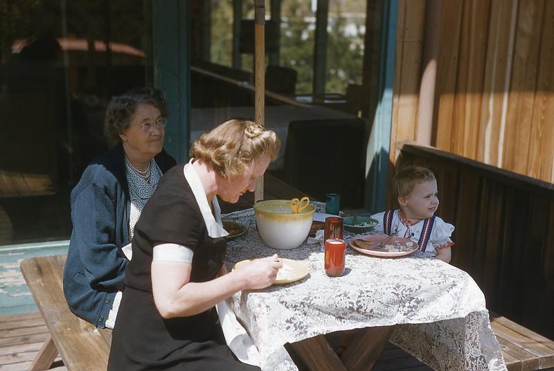 Grandma, Velma, and Anne
