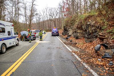 11-27-2020 MVA With Injuries, Bear Mountain Bridge Road