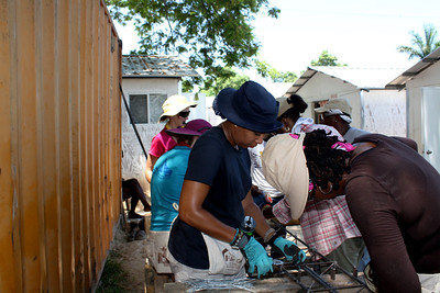 September 2011 women's build in Haiti Days 3 and 4