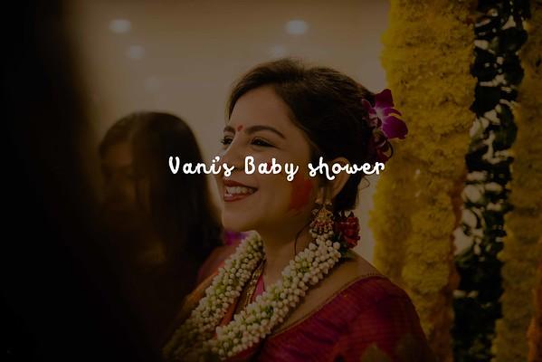 Vani's Baby shower / Anand 2018