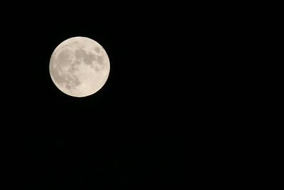 """Ciels - Lune - """" Nuit noire """""""
