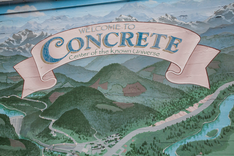 "The town of Concrete truly is ""the center of the known universe""."