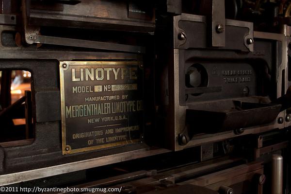 Mergenthaler Linotype Machine