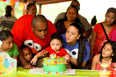 Cinco's 1st Birthday Party!