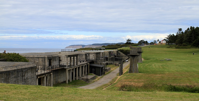 The fort's batteries became obsolete almost as soon as their construction was completed