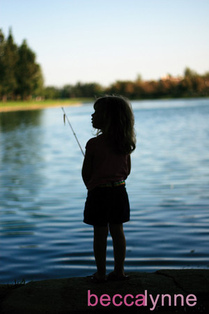 august 2. 2008 - fishing at rsm lake